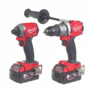 Milwaukee Brushless Twin Pack M18 FPP2A2-502X