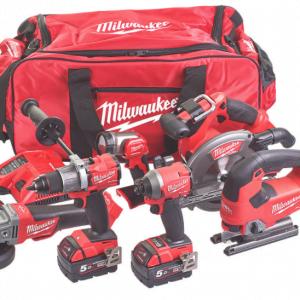 Milwaukee 6 Piece Tool Set M18 FPP6D2-503B