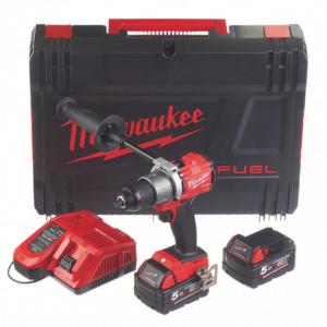 Milwaukee Cordless Combi Drill Set M18 FPD2-502X