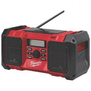 Milwaukee DAB RADIO M18 JSRDAB+-0 (Unit Only)