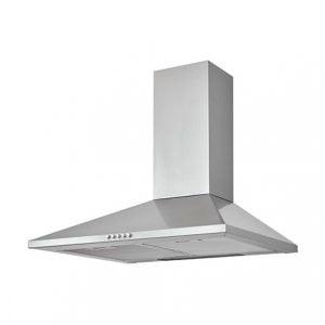 CHS60 Inox Stainless steel Chimney Cooker hood, (W)60cm