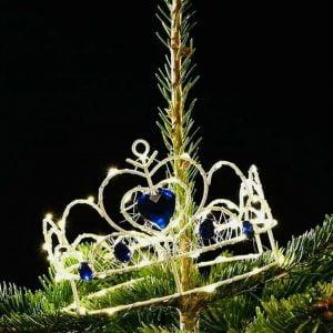 Perfect Christmas LED Tiara Tree Topper